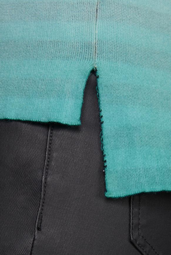 Kapuzenpullover aus Doubleface Interlock