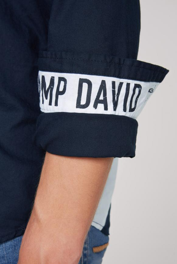 Langarmhemd mit Rücken-Artwork