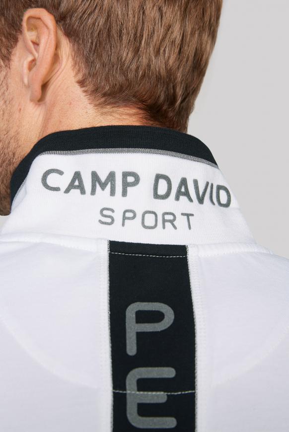 Poloshirt aus Pikee mit Logo Artworks