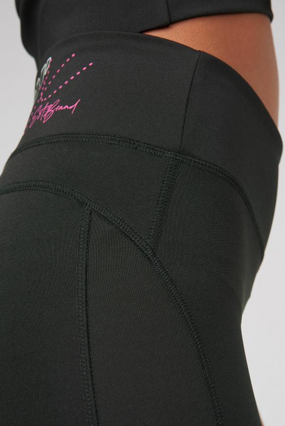 Sport-Leggings mit Print Artwork