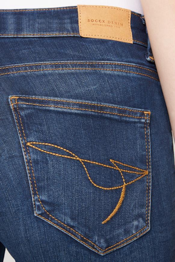 Stretch-Jeans MI:RA im Vintage Look