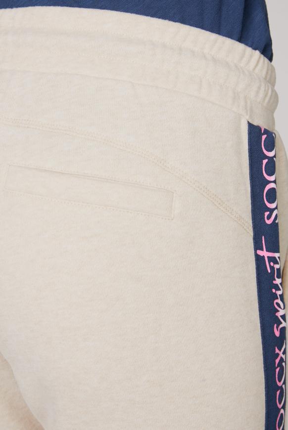 Sweathose mit Logo-Tapes