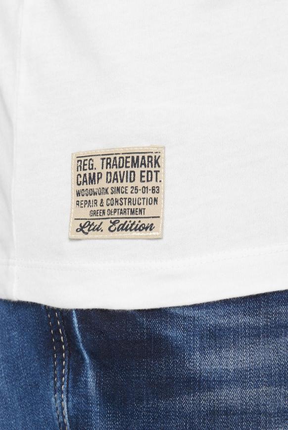 T-Shirt mit Vintage Print