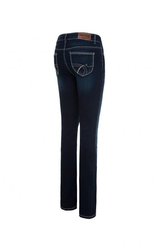 Bootcut Jeans CO:LE mit Wrinkle-Effekte