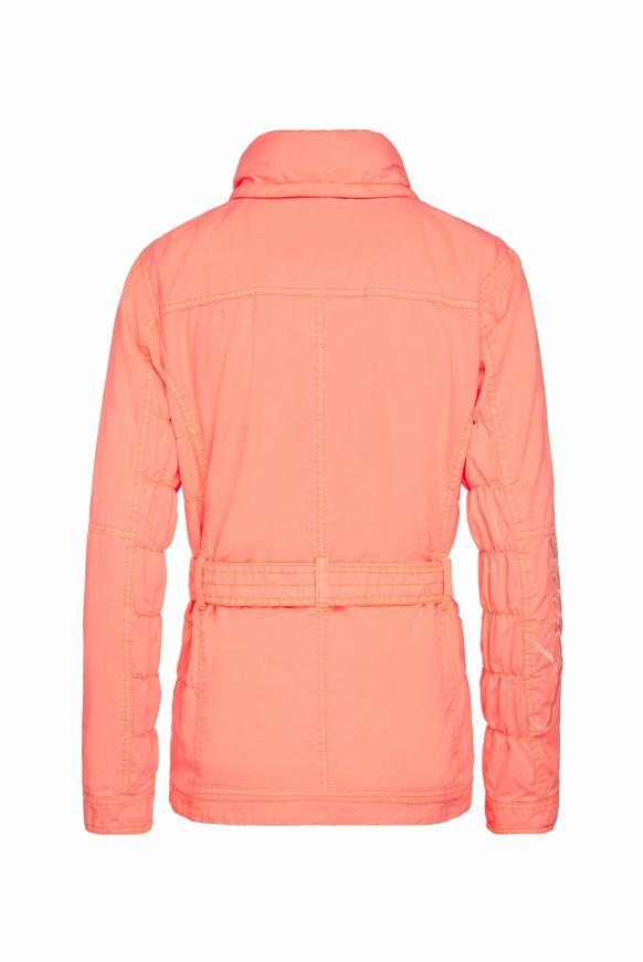 Jacke mit Kapuze und Taillengürtel