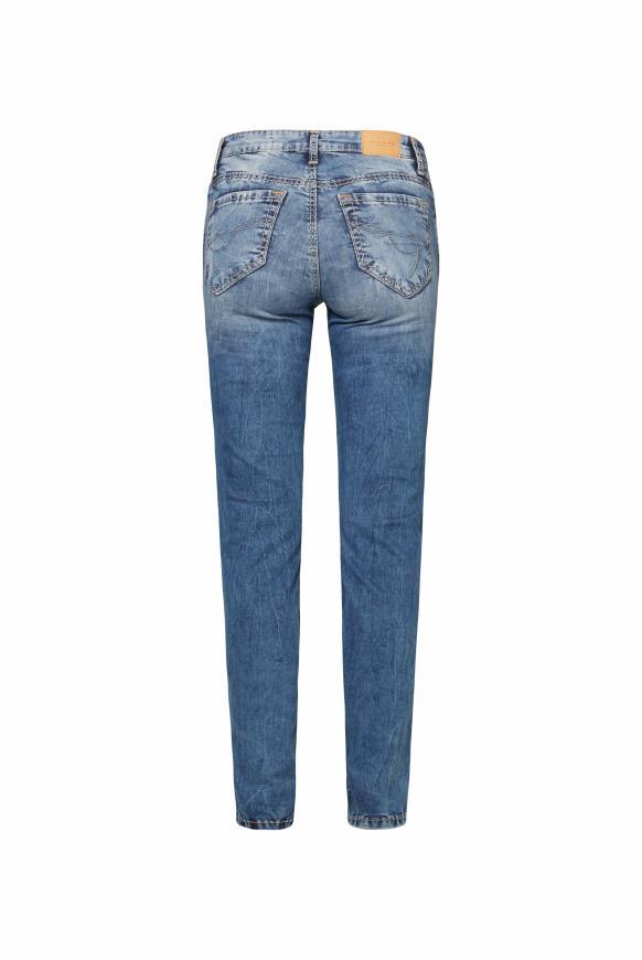 Jeans HE:DI mit Bleaching-Effekten