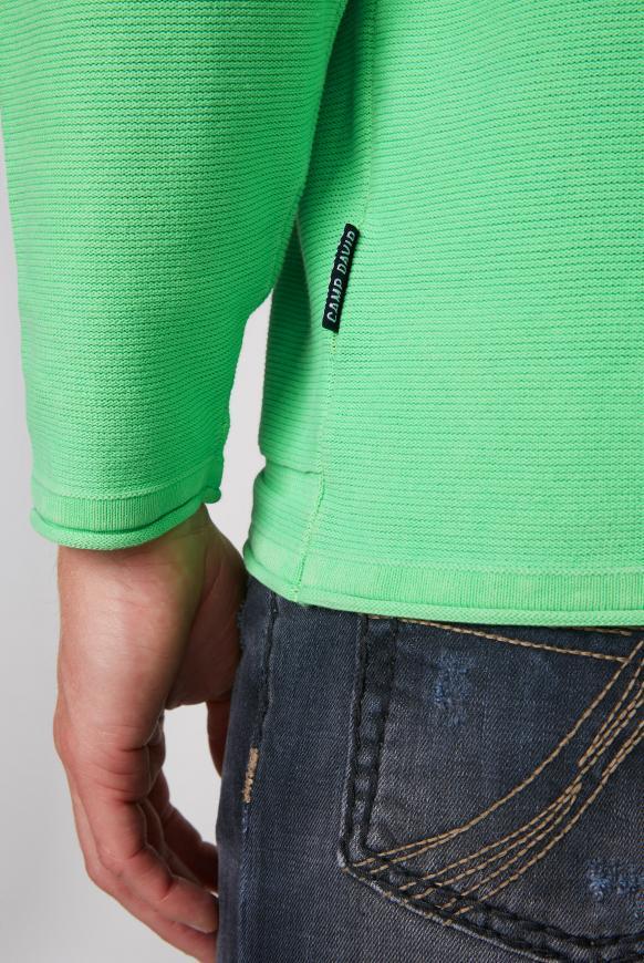 Kapuzenpullover mit Label Prints und Patches