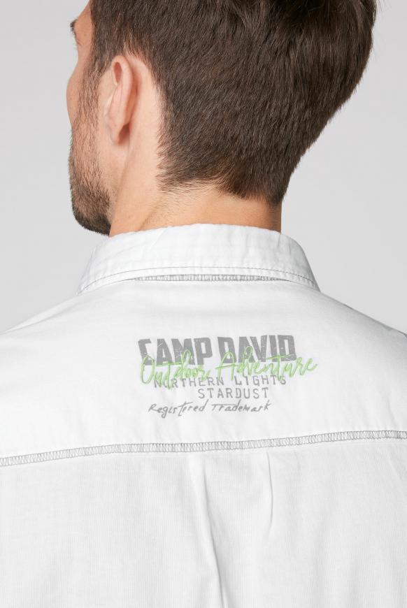 Langarmhemd mit Logo-Artwork