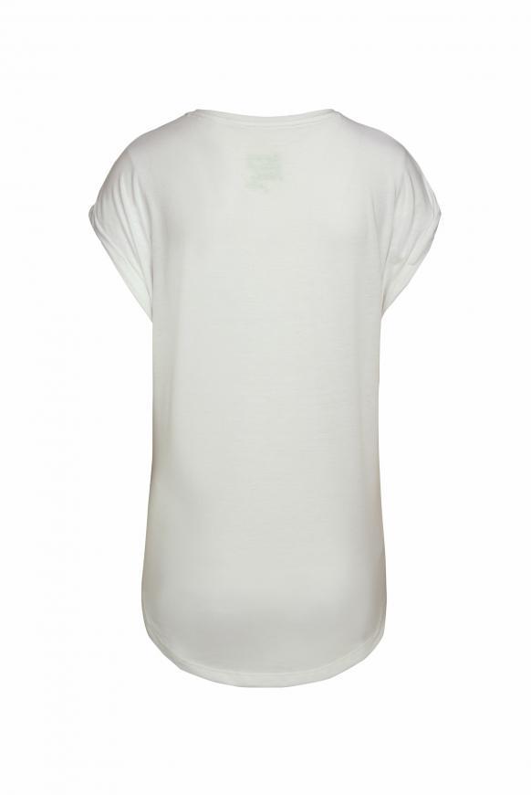T-Shirt mit buntem Frontprint