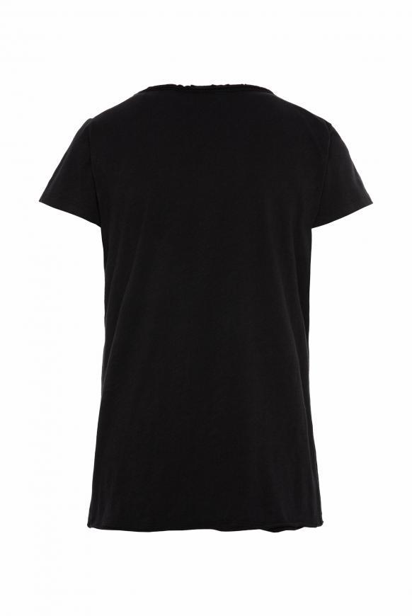 T-Shirt mit Glitzerstein-Artwork