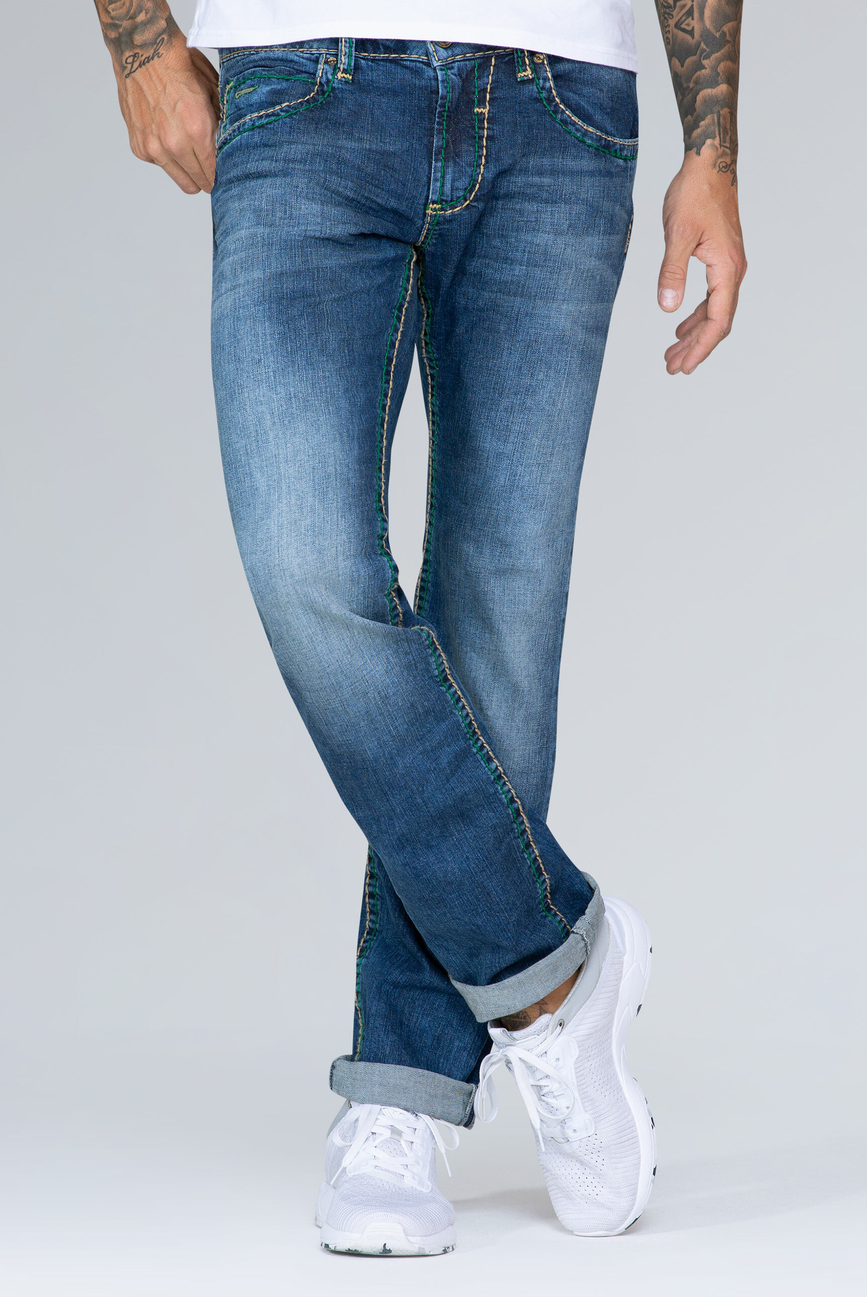 Bootcut Blue Jeans NI:CO