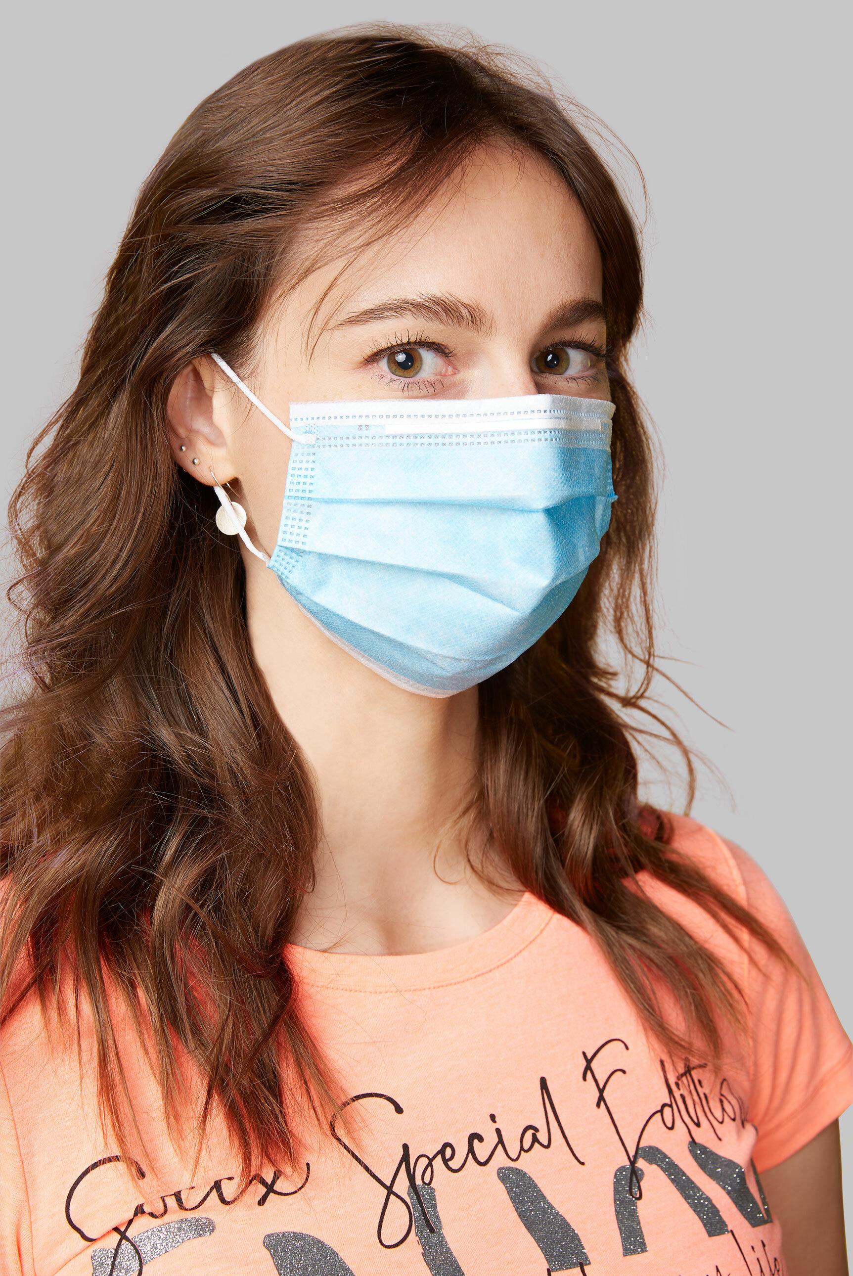 Einwegmaske (Mund-Nasen-Maske) 50er Pack