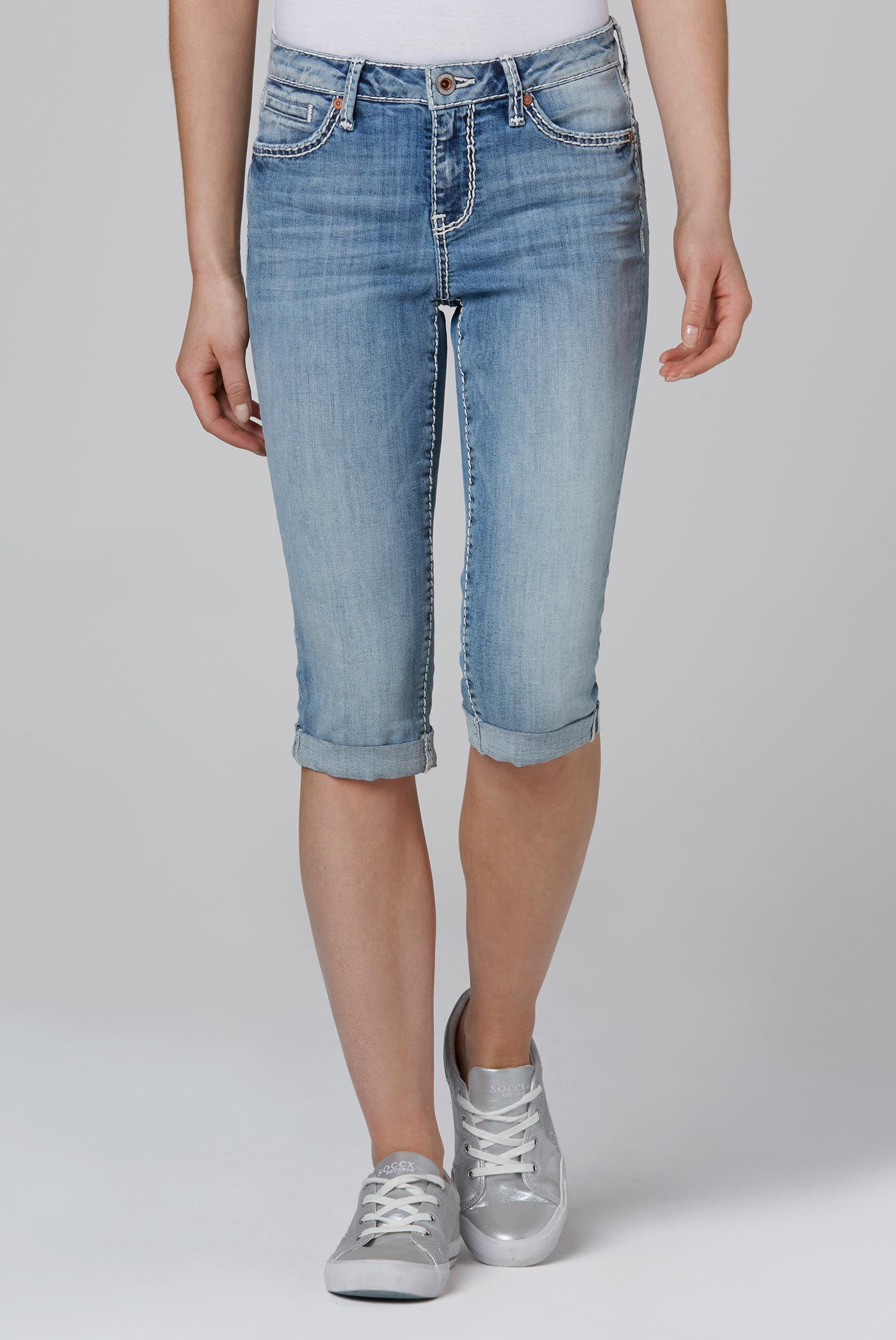 Jeans Bermuda RO:MY mit Vintage Look