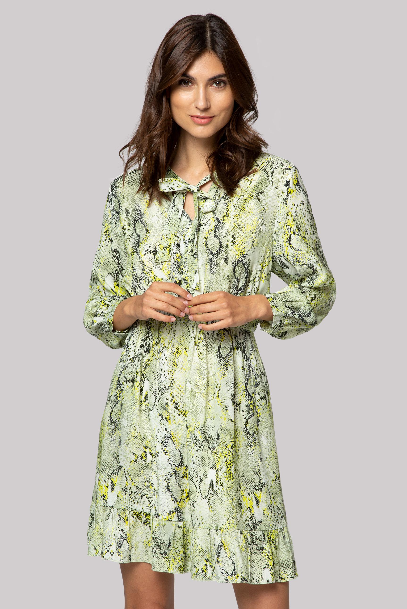 Kleid mit Snake Print