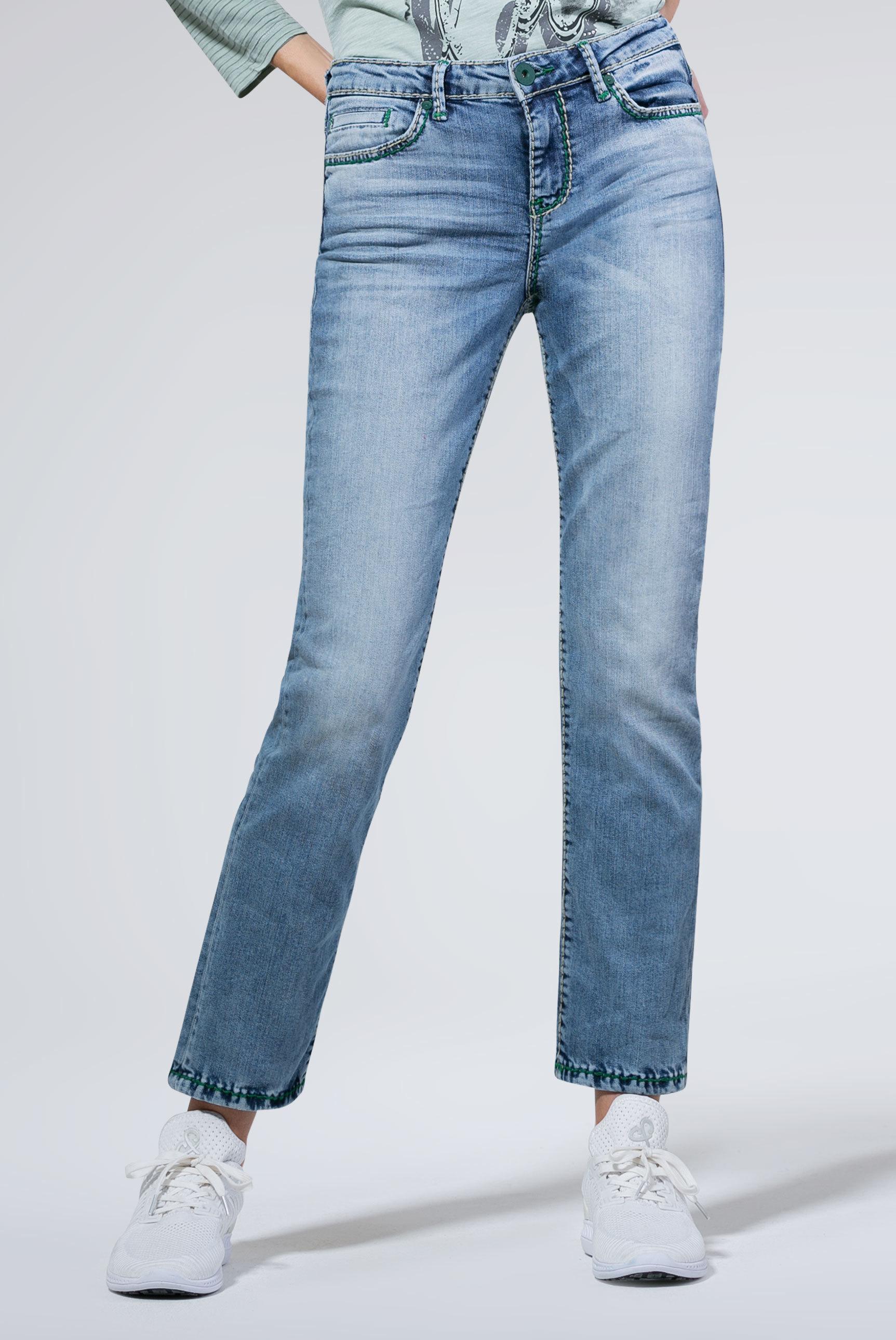 Light Used Jeans RO:MY mit geradem Bein