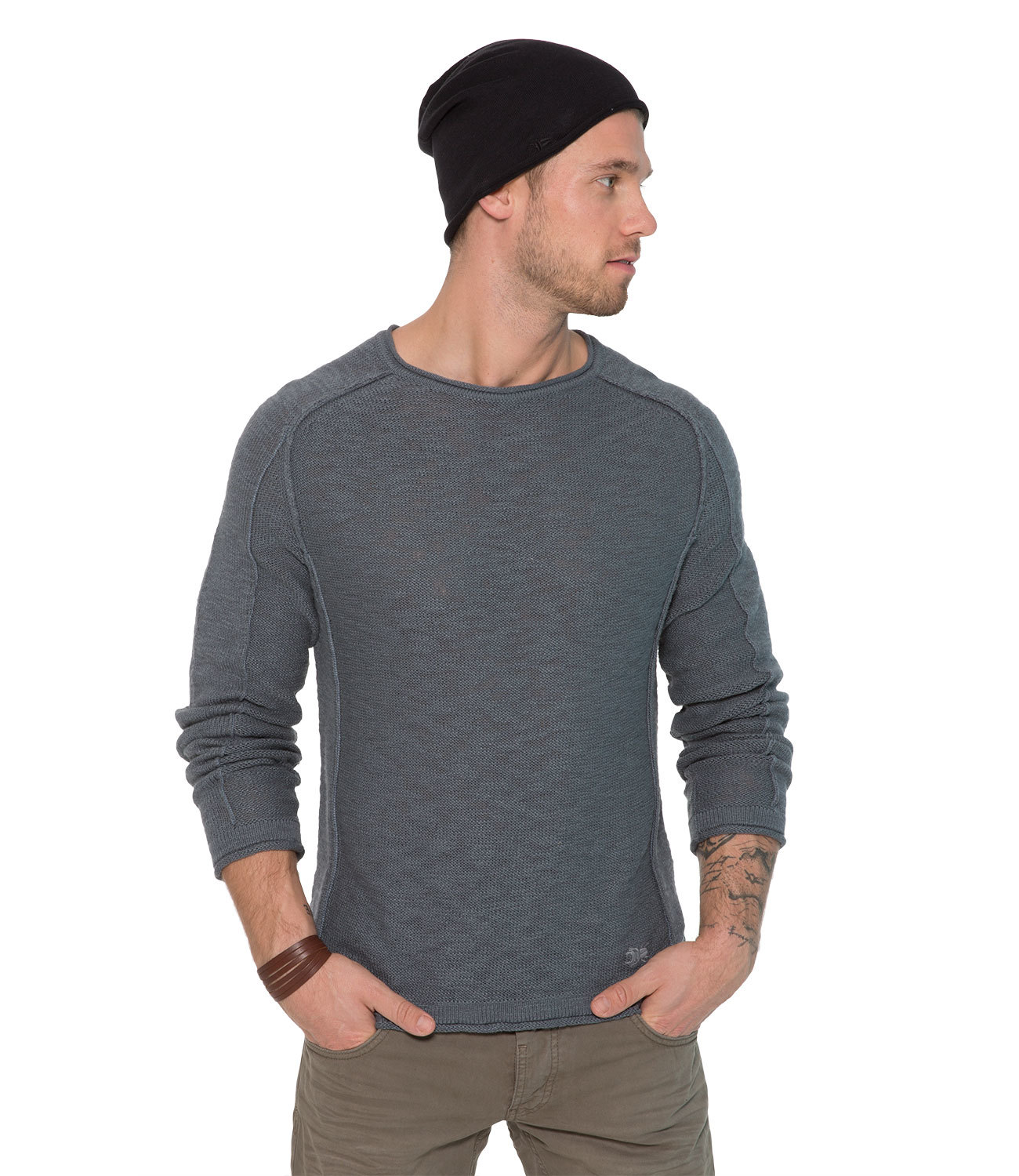 Pullover in Linksstrick