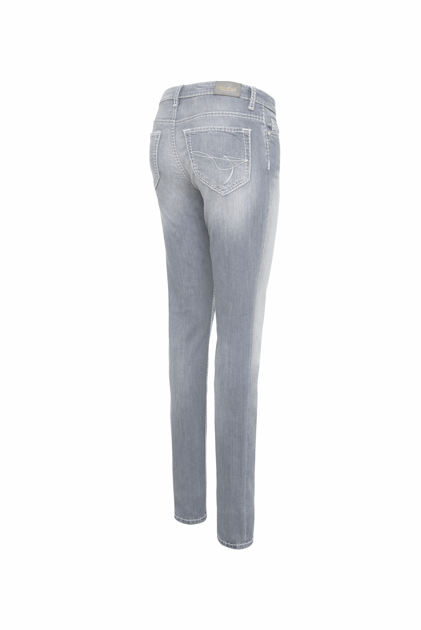 Slim Fit Jeans HE:DI in Grey Used
