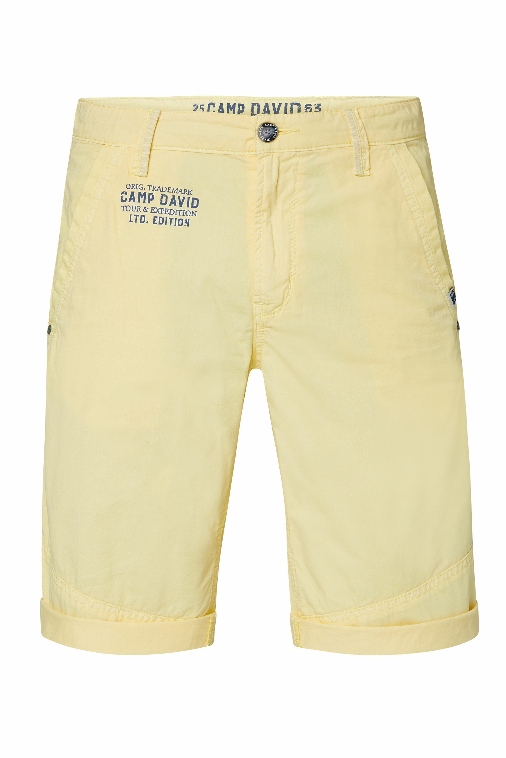 Chino Shorts mit Back Print