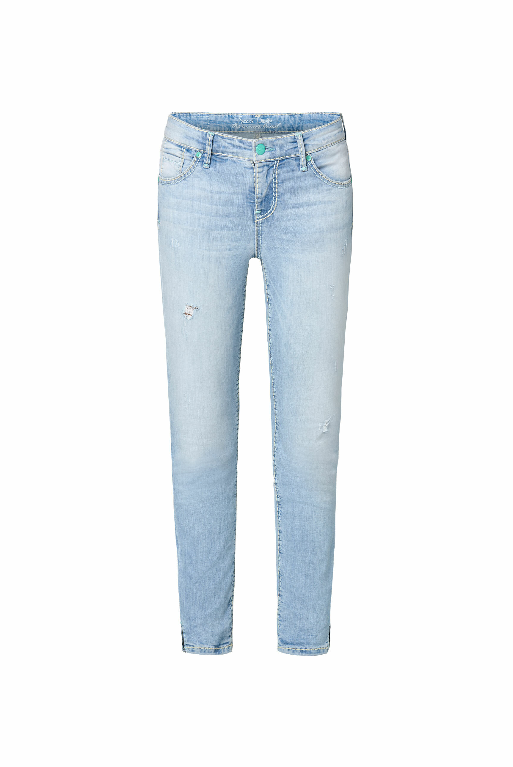 Jeans MI:RA Salt Washed mit Destroy-Effekten