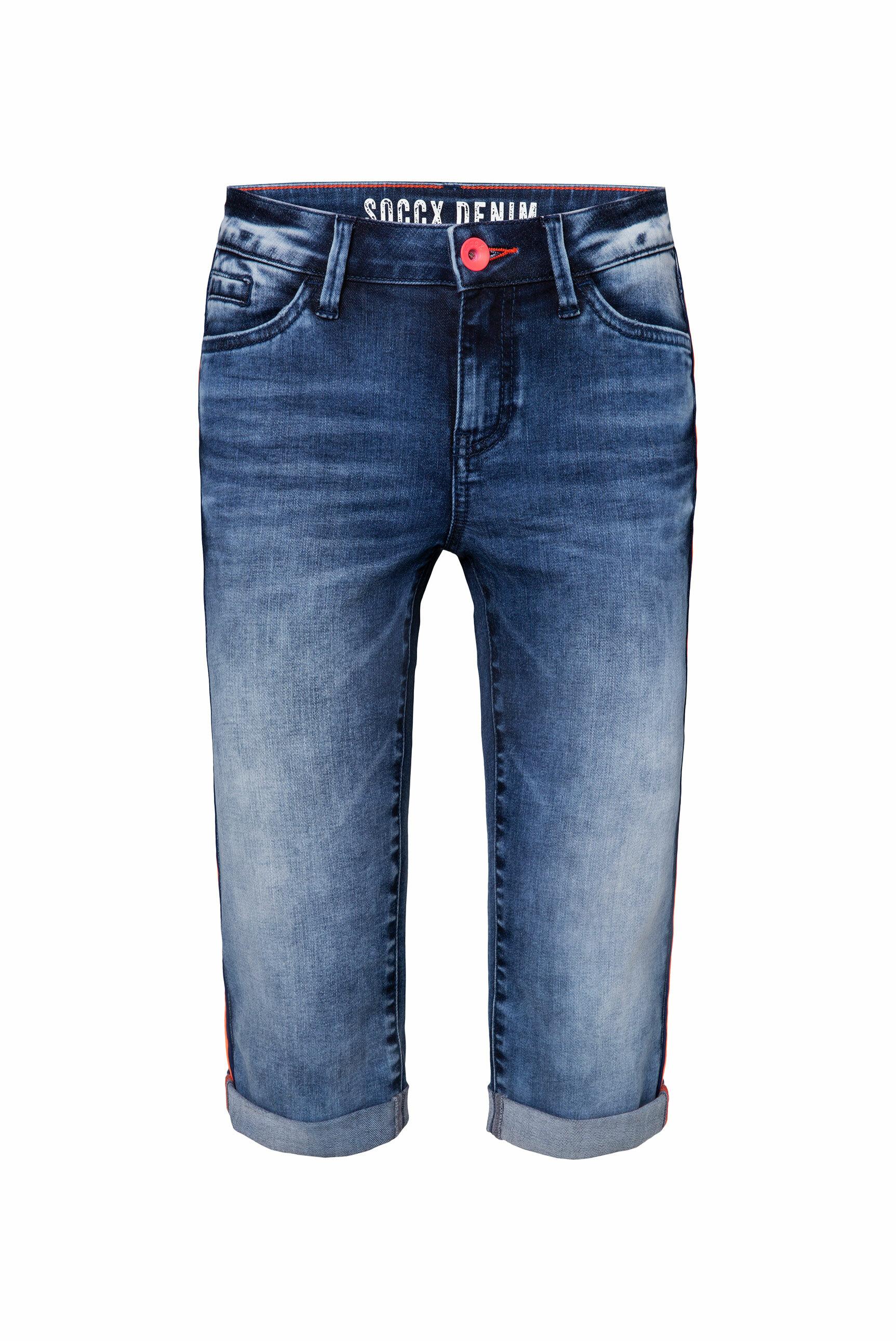 Jeans RO:MY Bermuda mit Seitentape