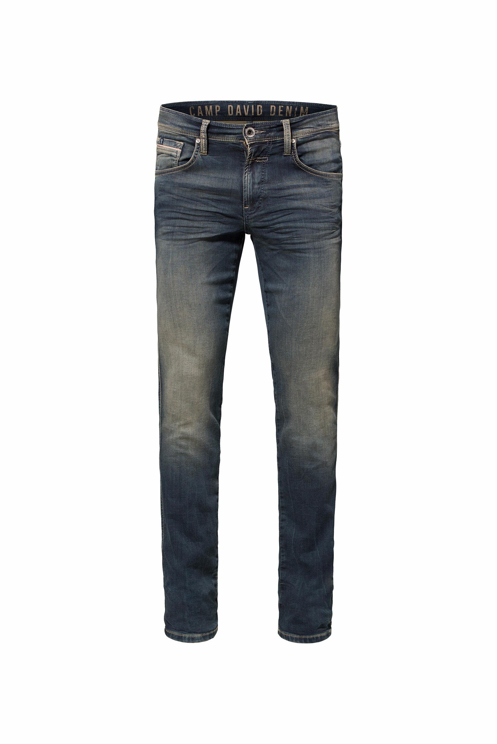 Jogg-Denim mit Used-Optik Jeans DA:VD