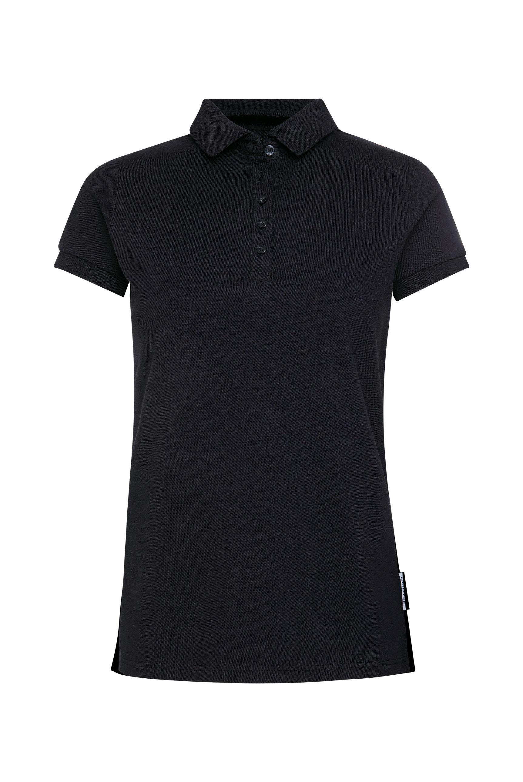 Poloshirt aus Piquee mit Trikotkragen