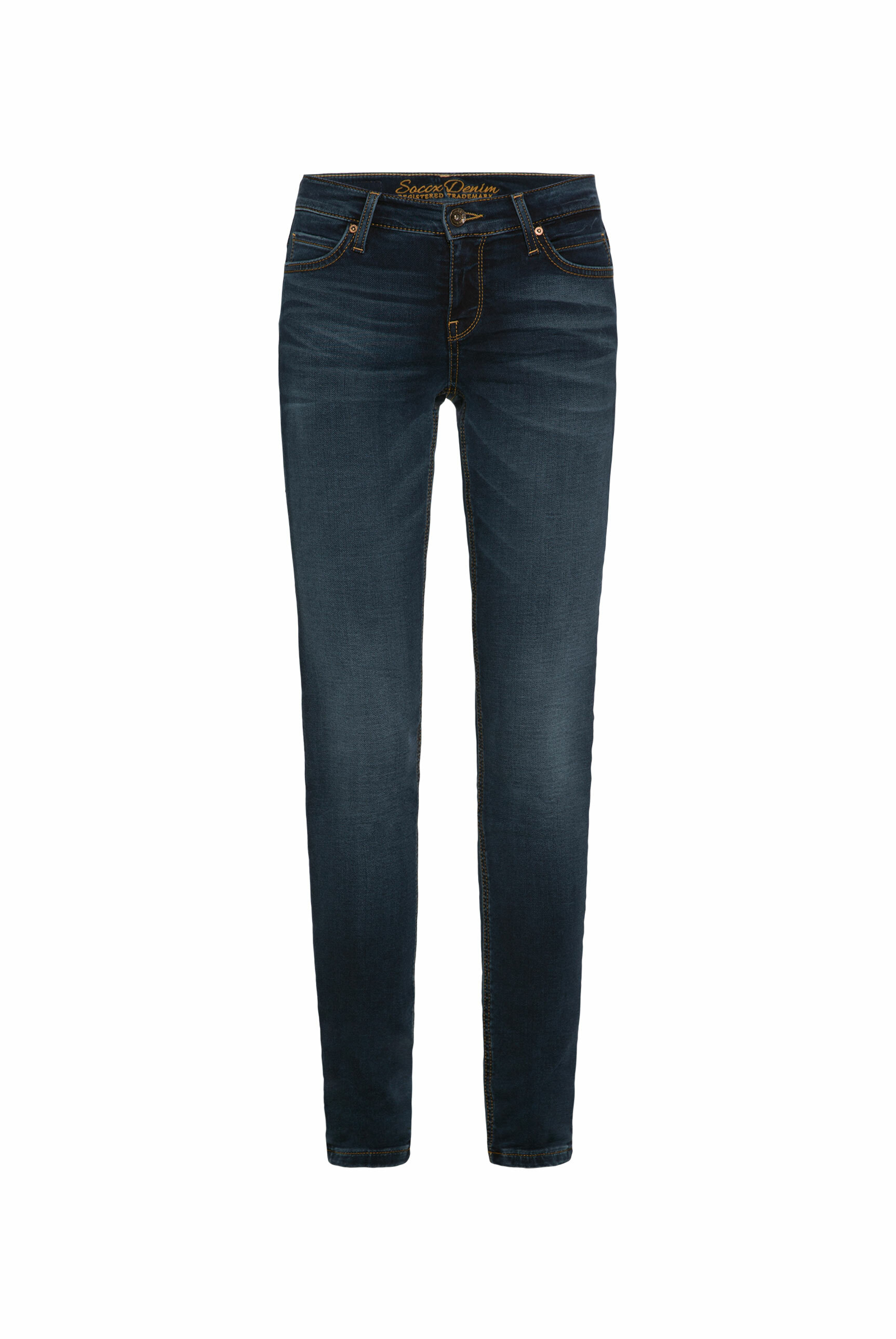CAMP DAVID & SOCCX   Slim Fit Jeans HE:DI in Grey Used