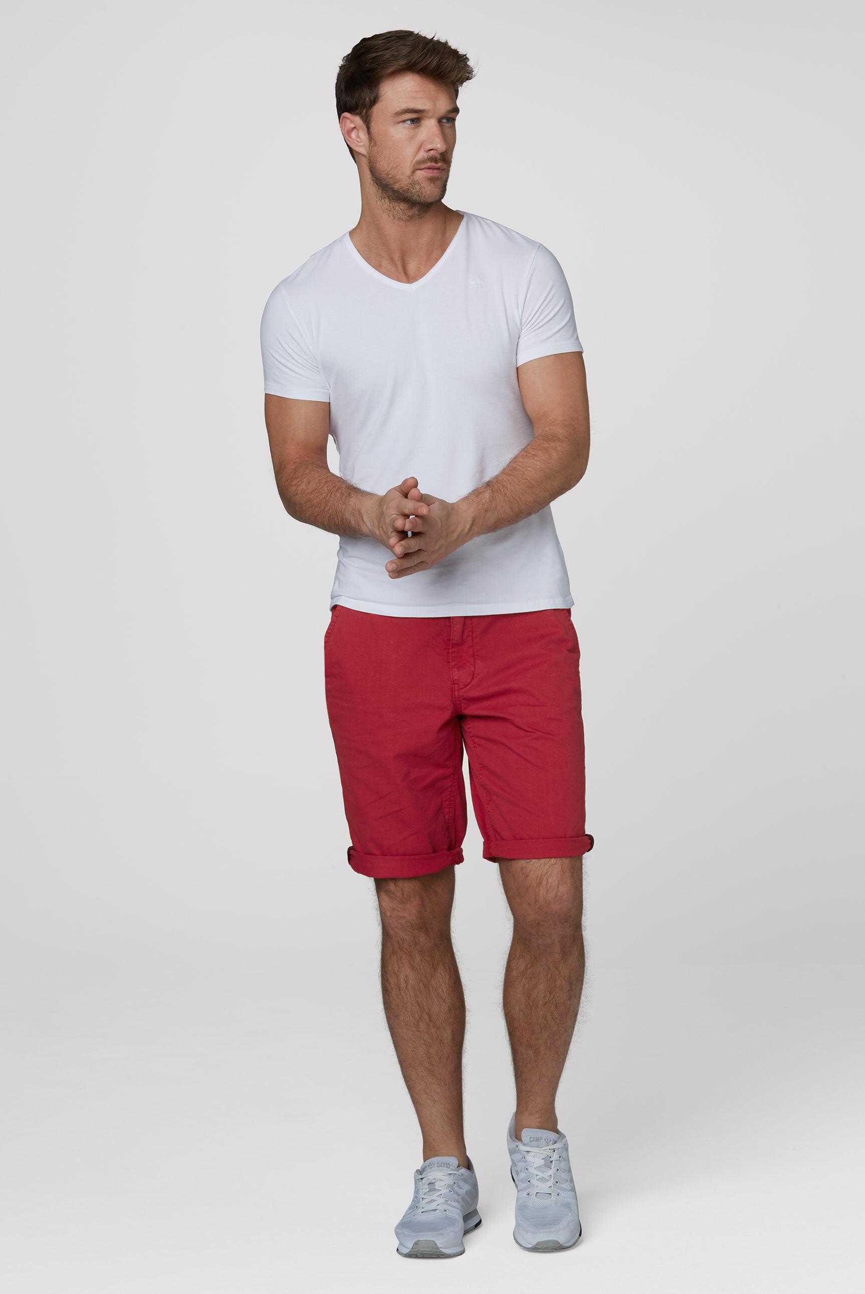 Klassische Chino Shorts