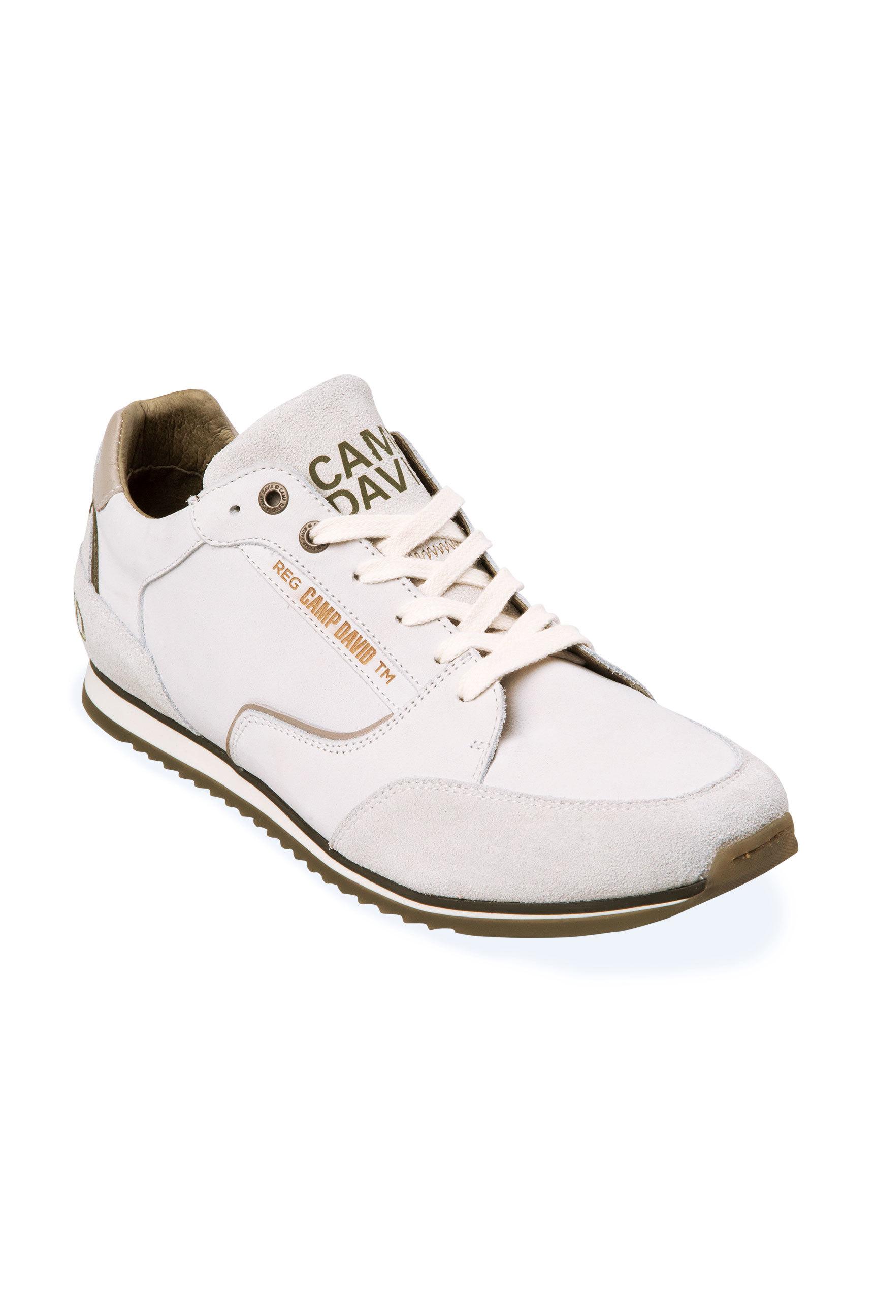 Premium Leder Sneaker mit Logostick