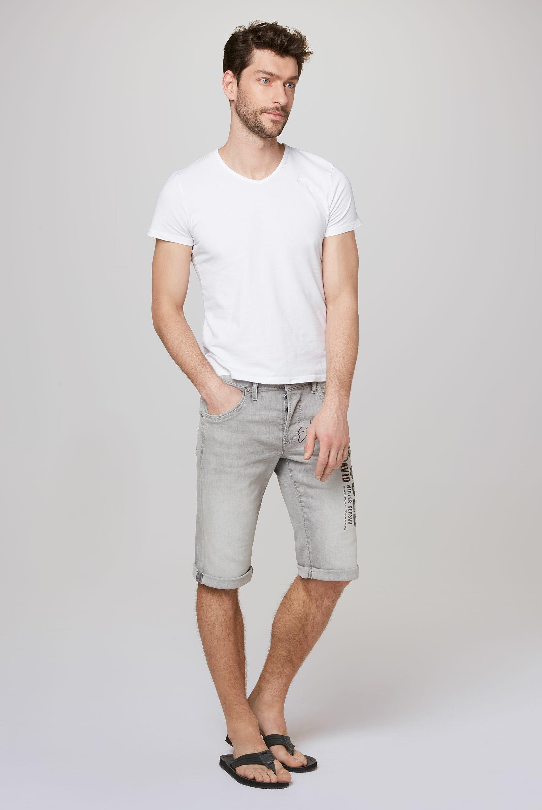 RO:BI Skater Jeans RO:BI mit Used Print