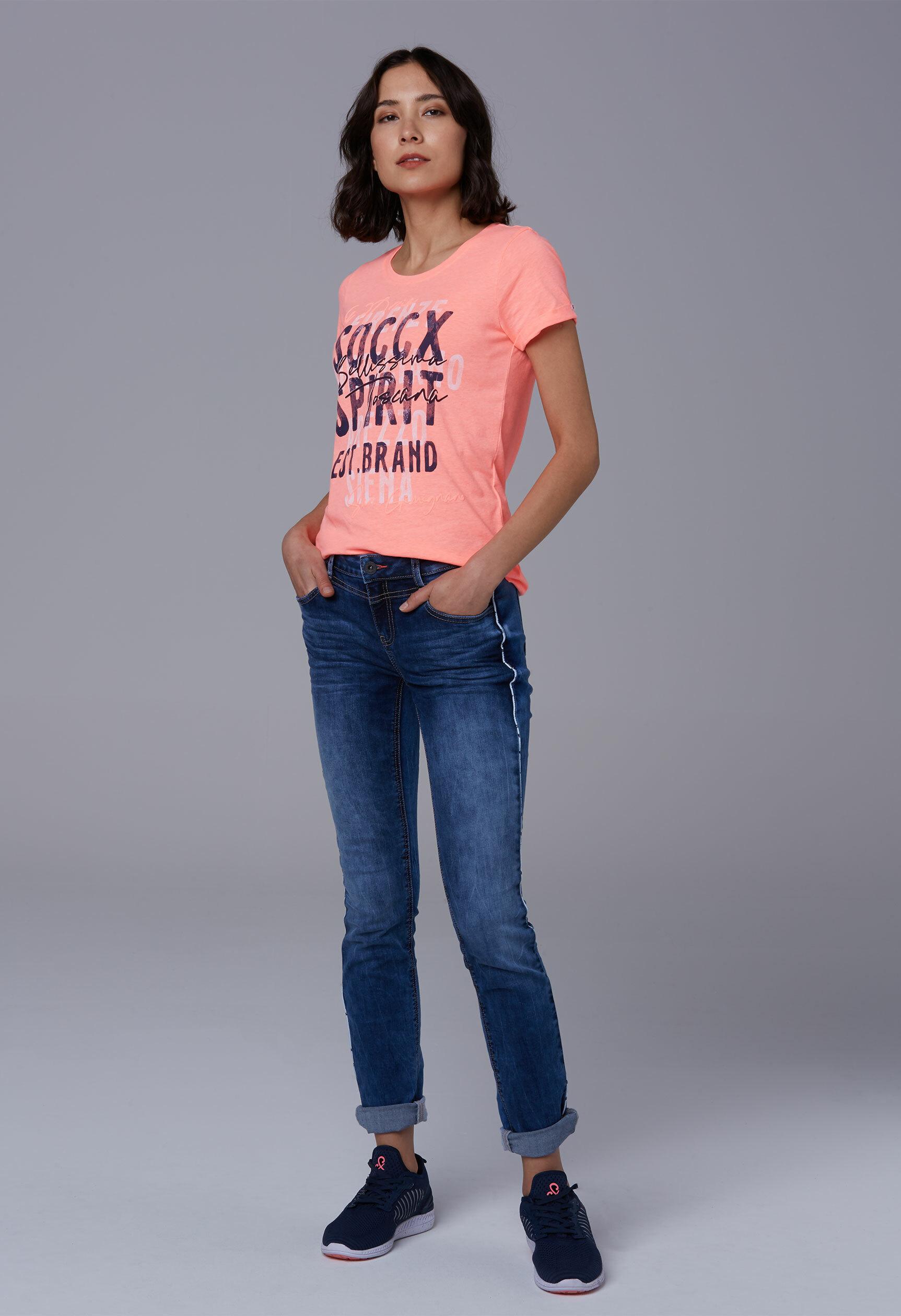 Softes T-Shirt mit Frontprint