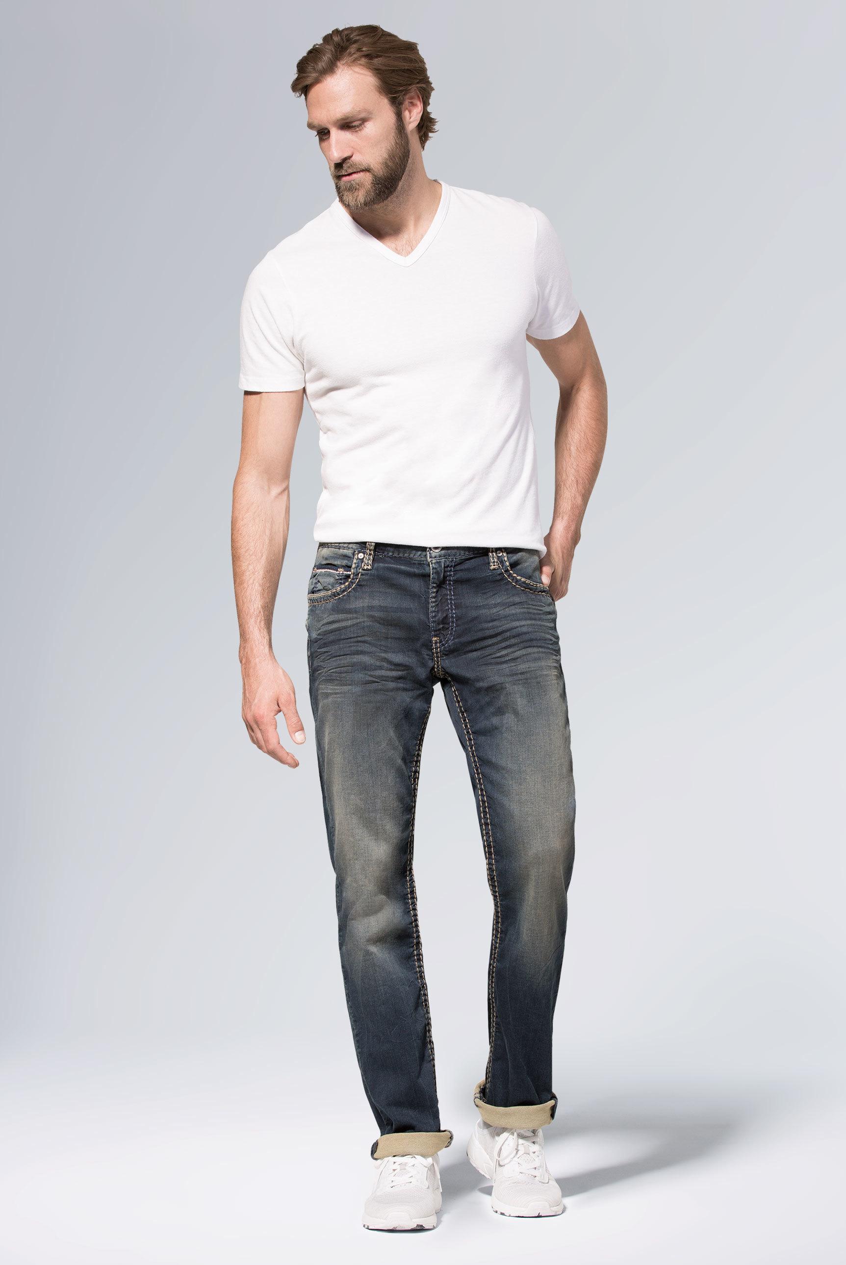 Sweatmaterial im Denim Look Jeans CO:NO