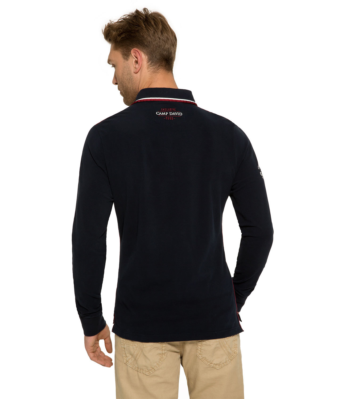 Sweatshirt im Polo-Stil