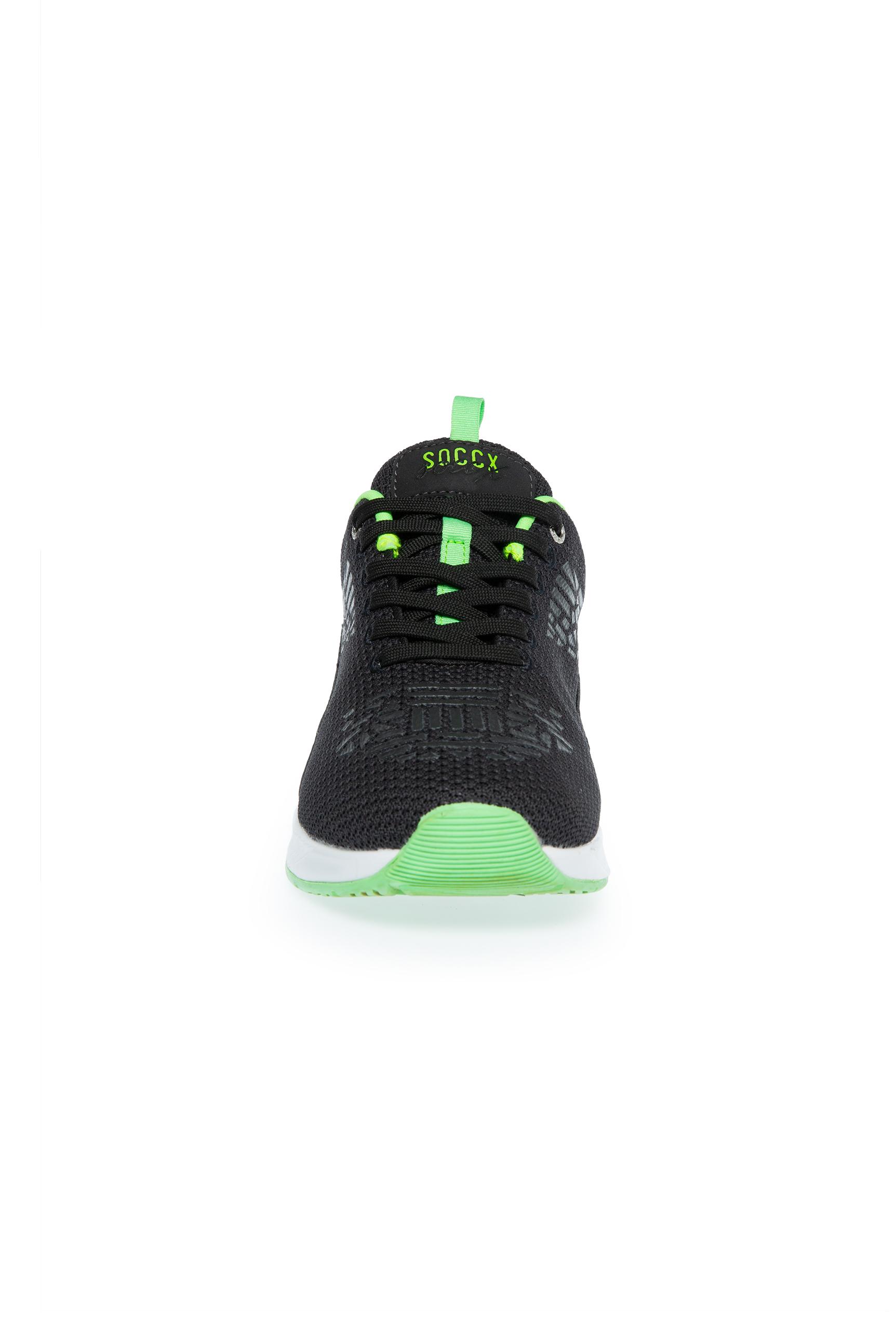 Textil-Sneaker mit Rubber-Print