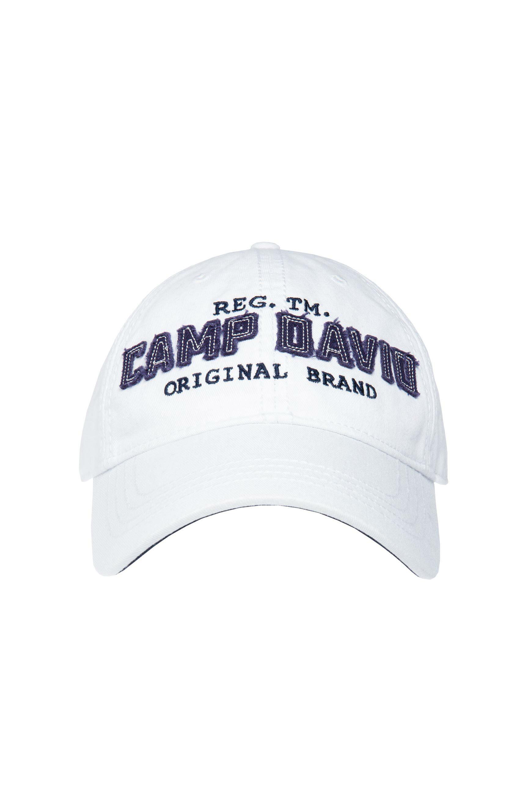 Base Cap mit Logo Applikation