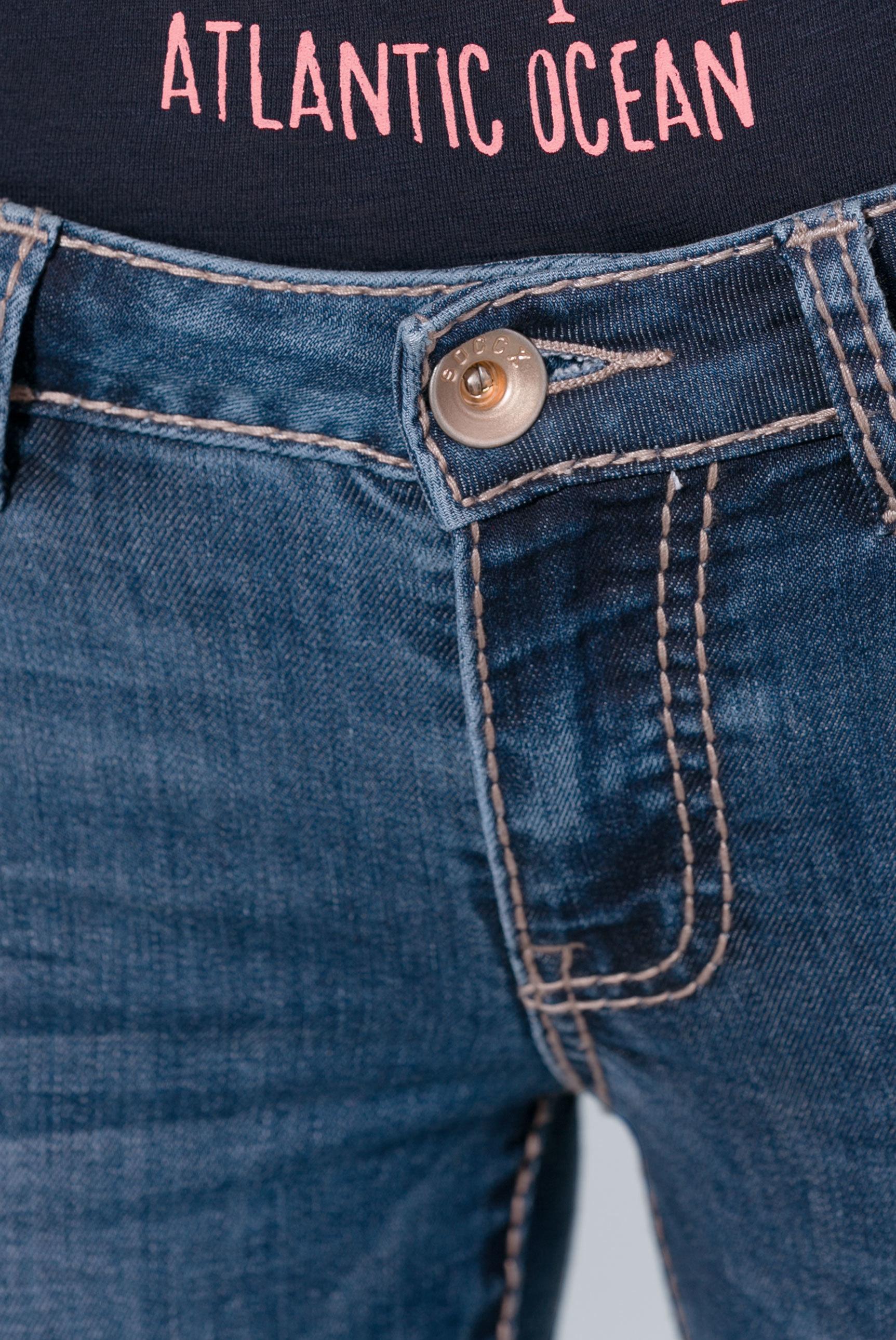 Dark Stone Used Jeans RO:MY mit geradem Bein