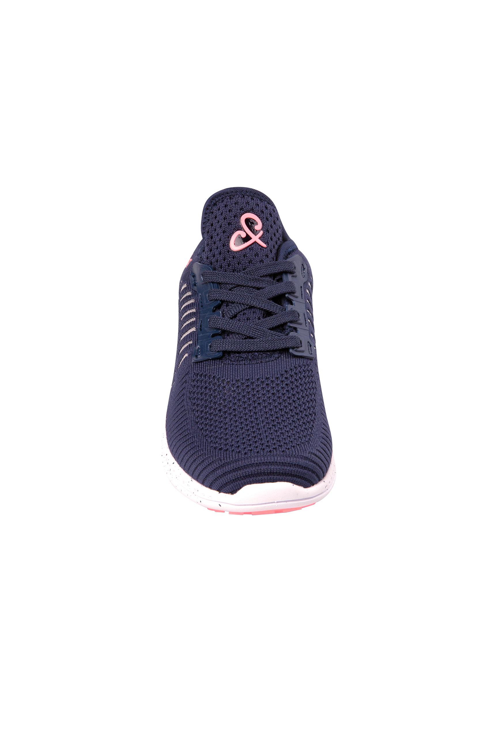 Knit Sneaker mit Logo