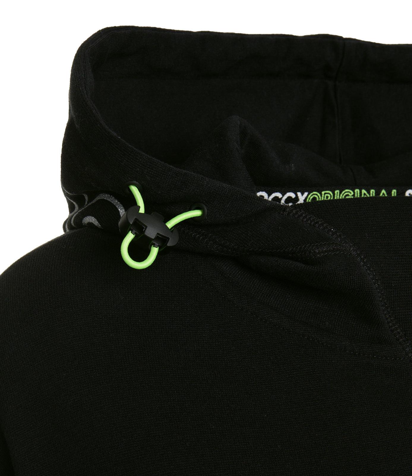 Oversize Hoodie mit Glitter Logo