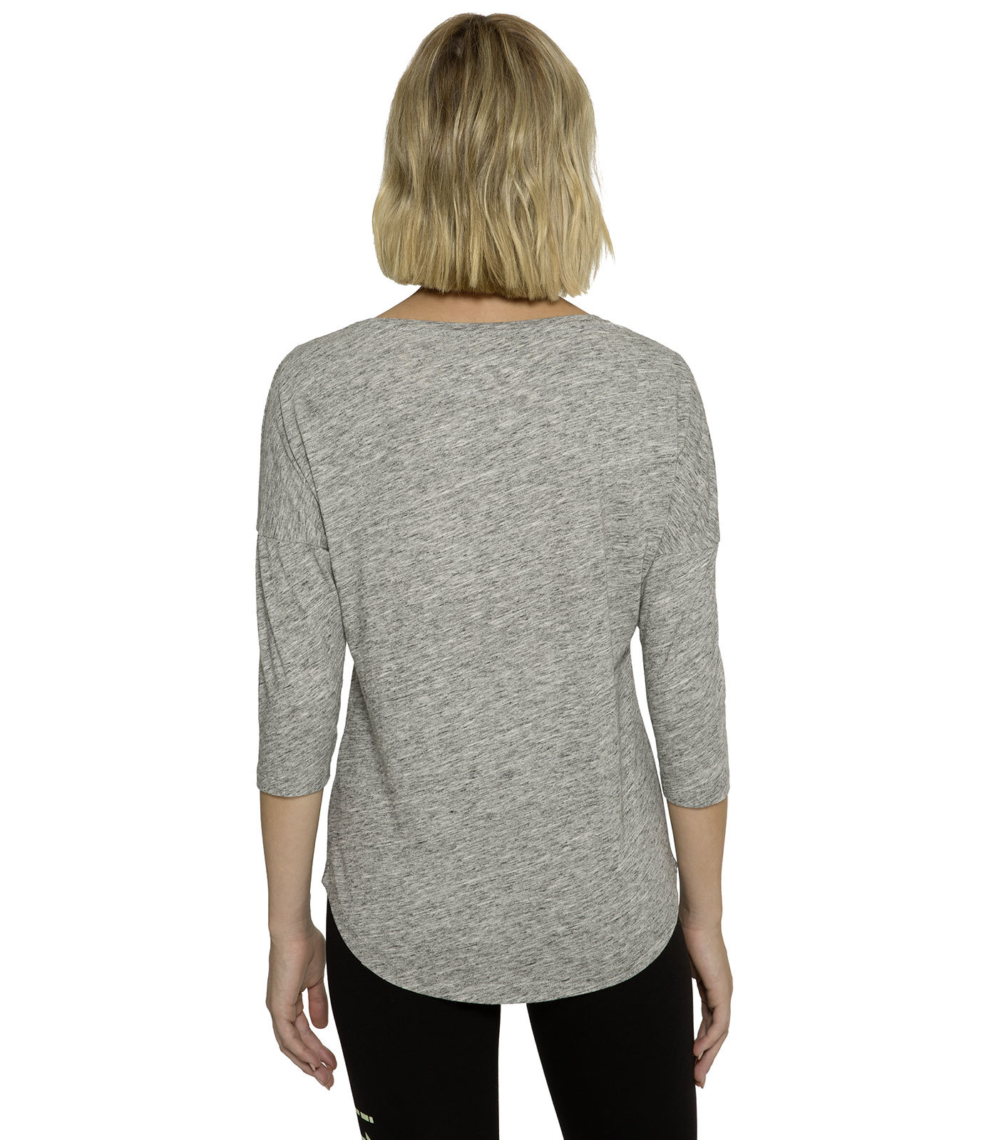 Oversize Shirt mit 3/4-Arm und Artwork