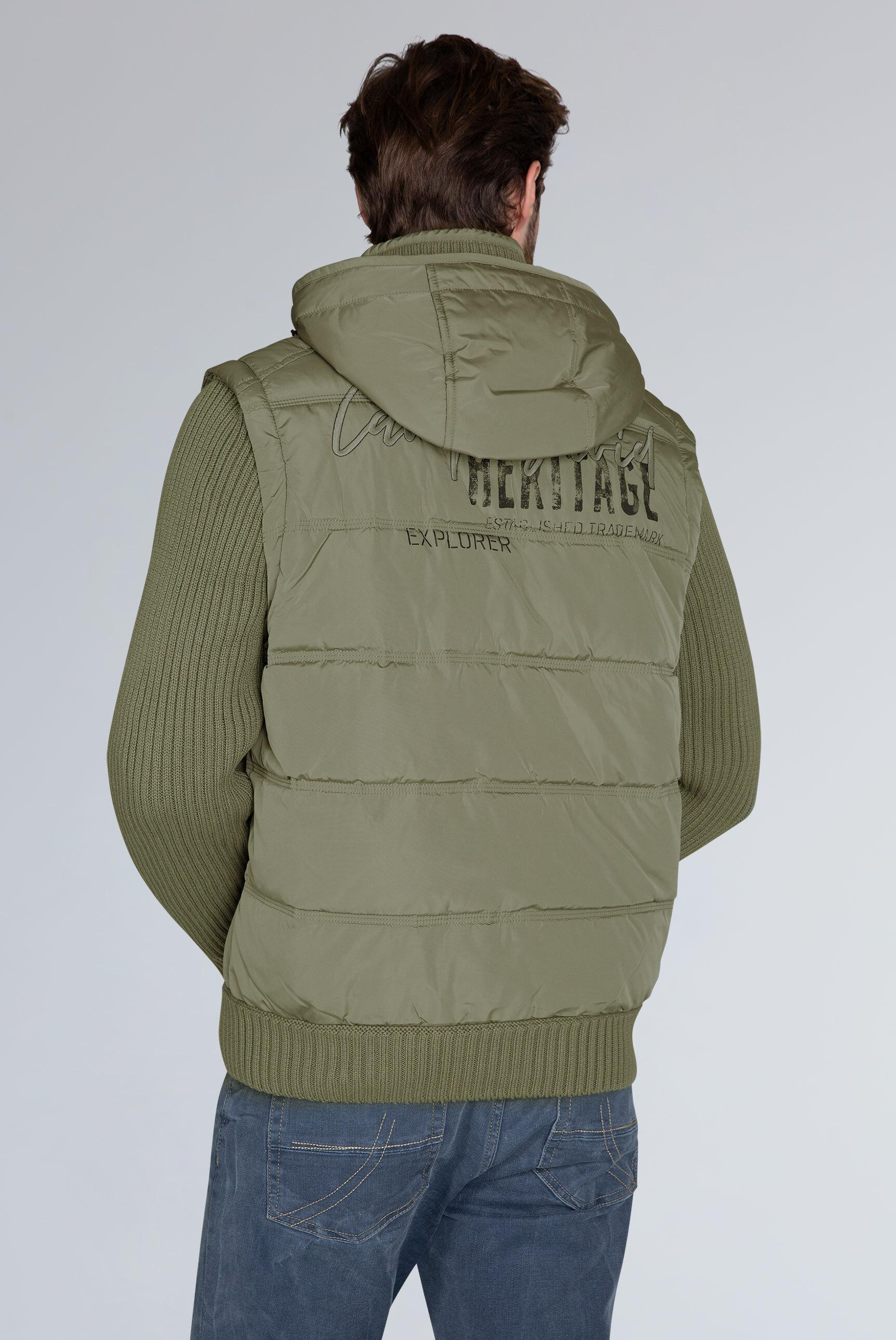 2-in-1-Jacke mit Kapuze und Artworks
