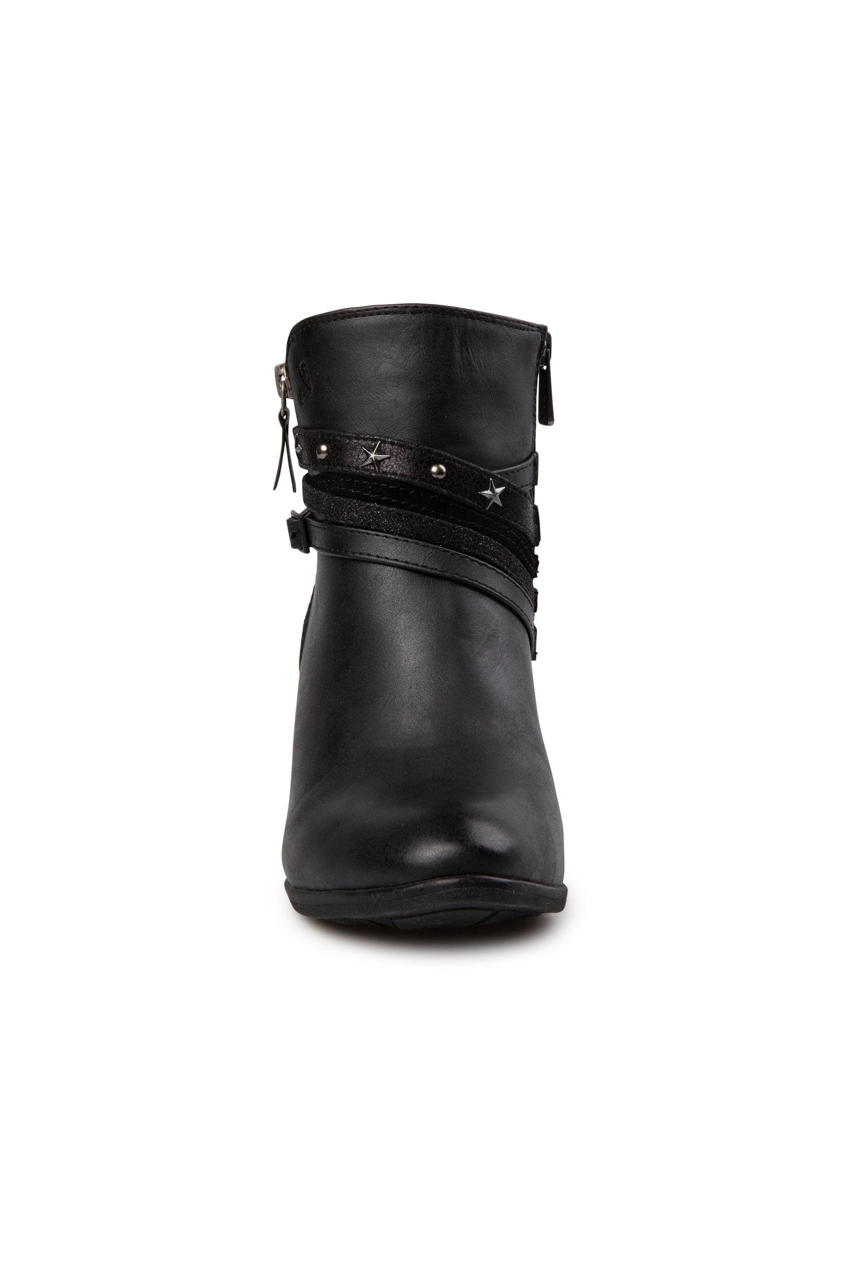 Ankle Boots mit Zierriemchen