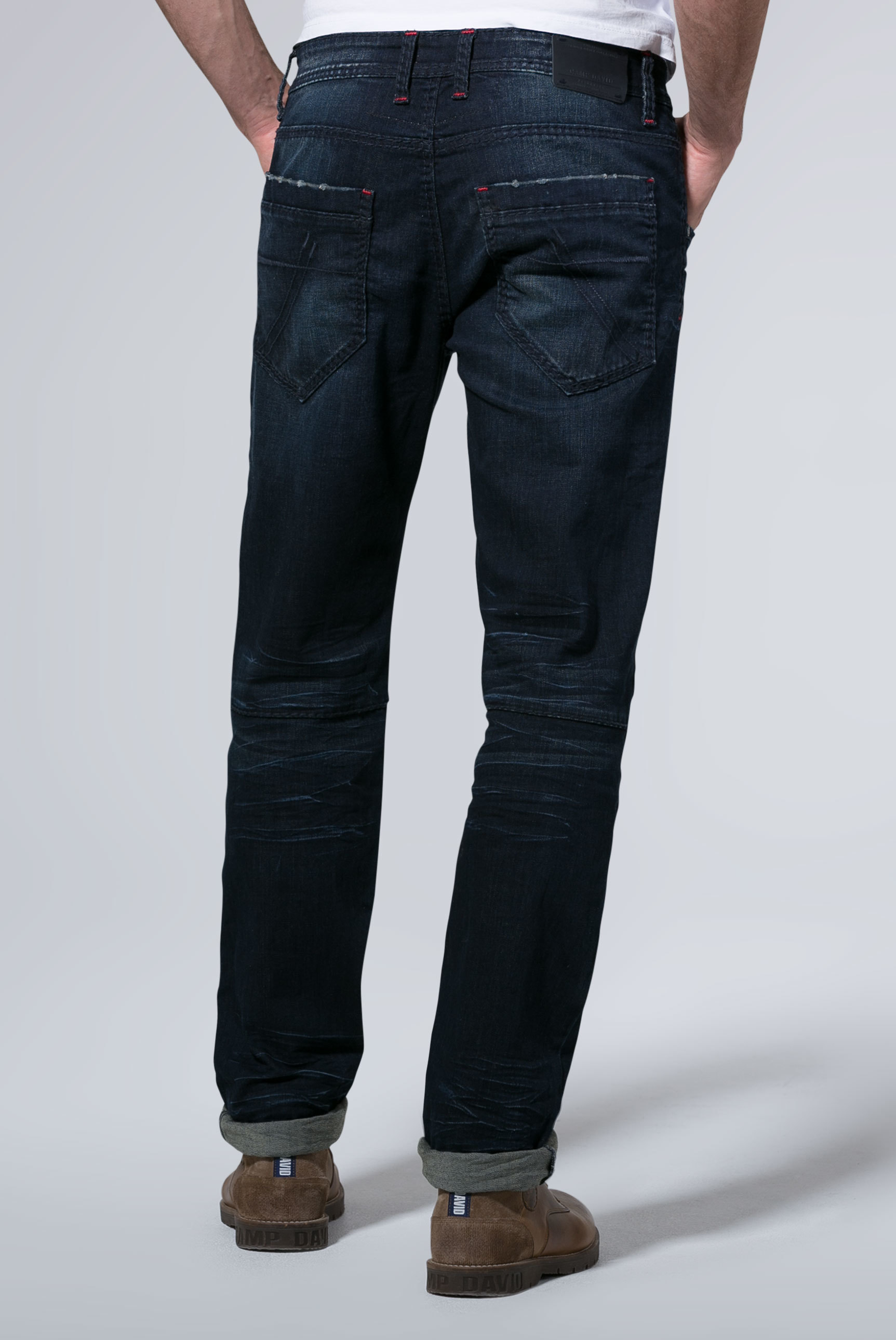 Jeans WI:LL im Vintage Look mit Patches Worker
