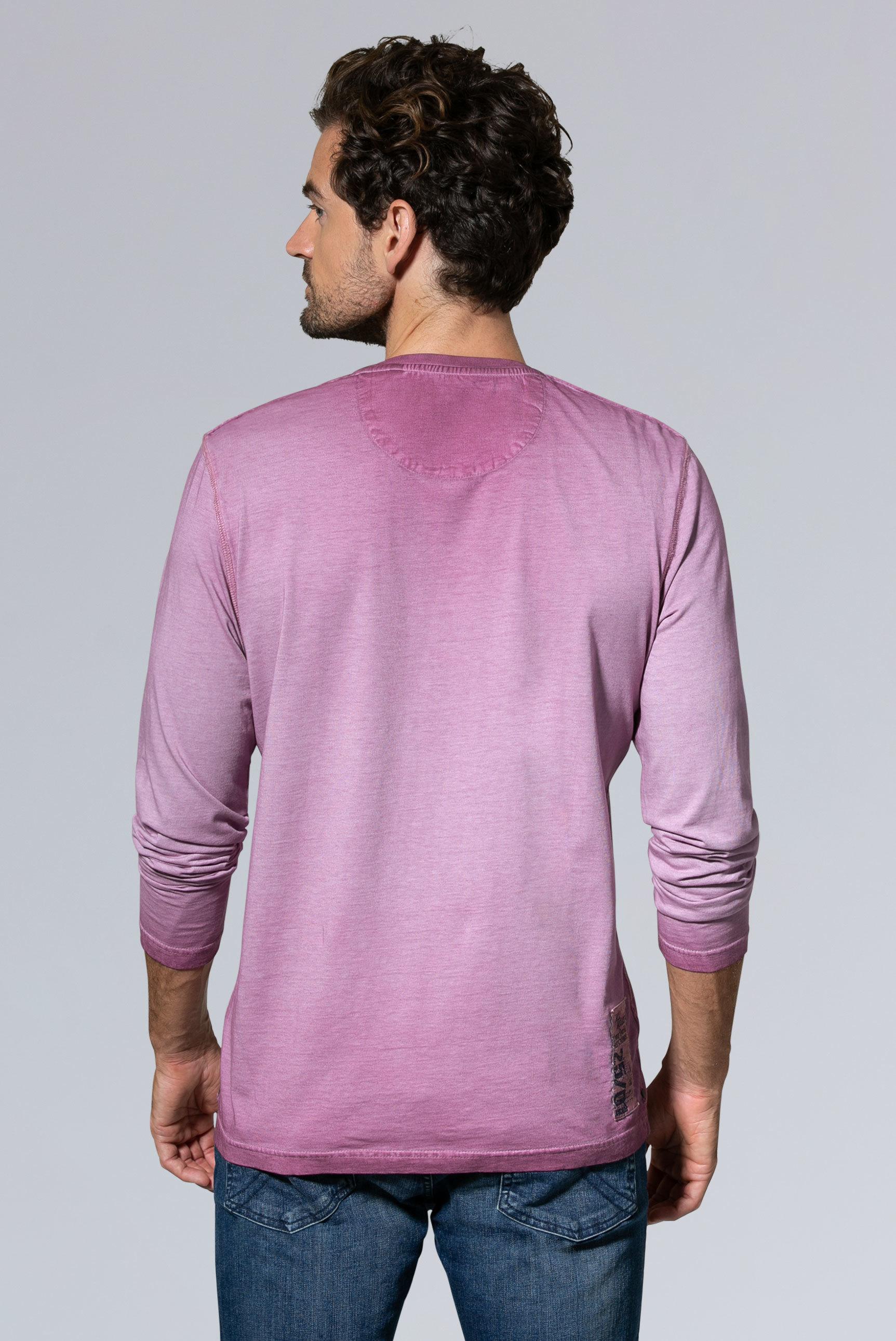 Langarmshirt mit Inside Out Print
