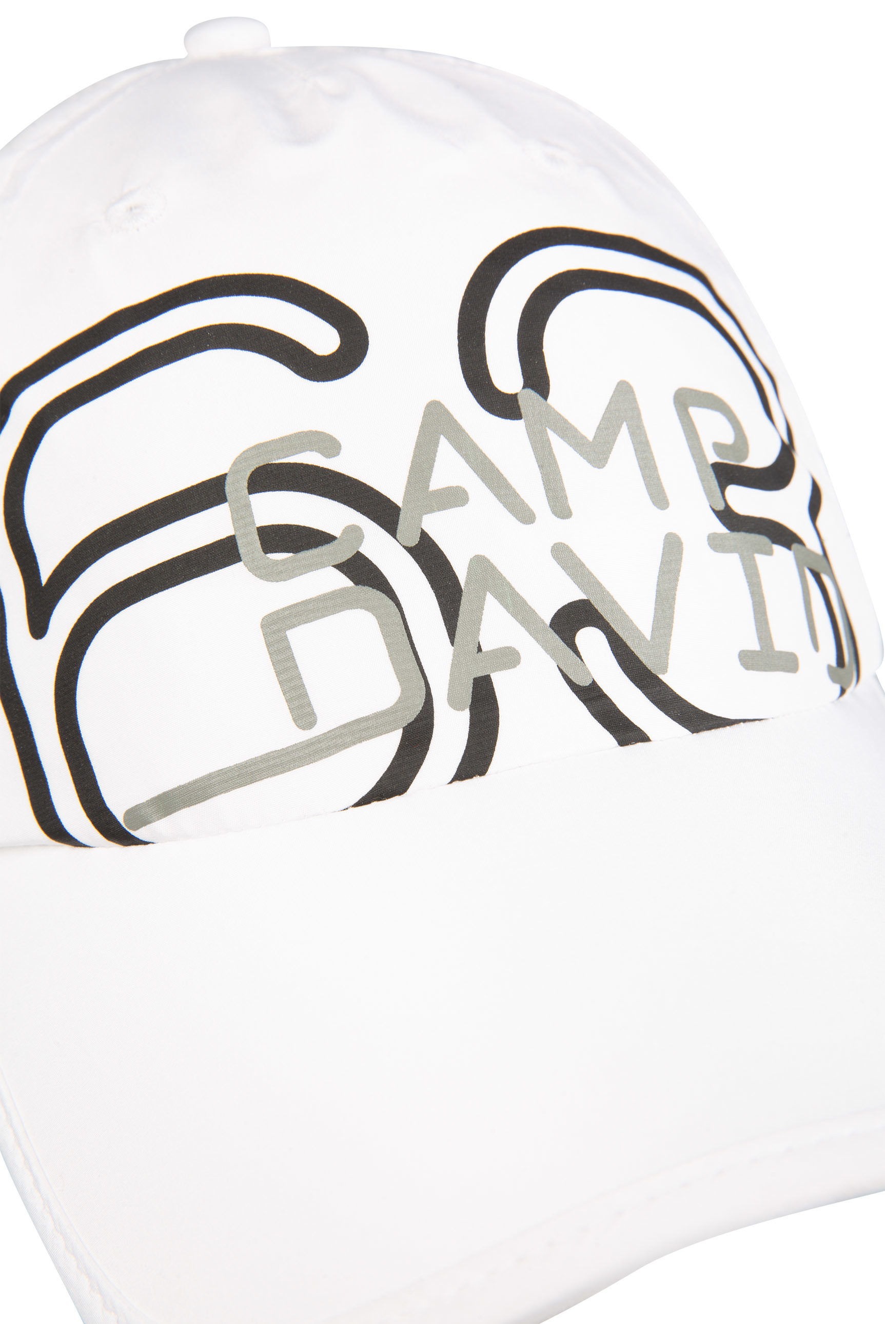 Leichtes Basecap mit Logo Print