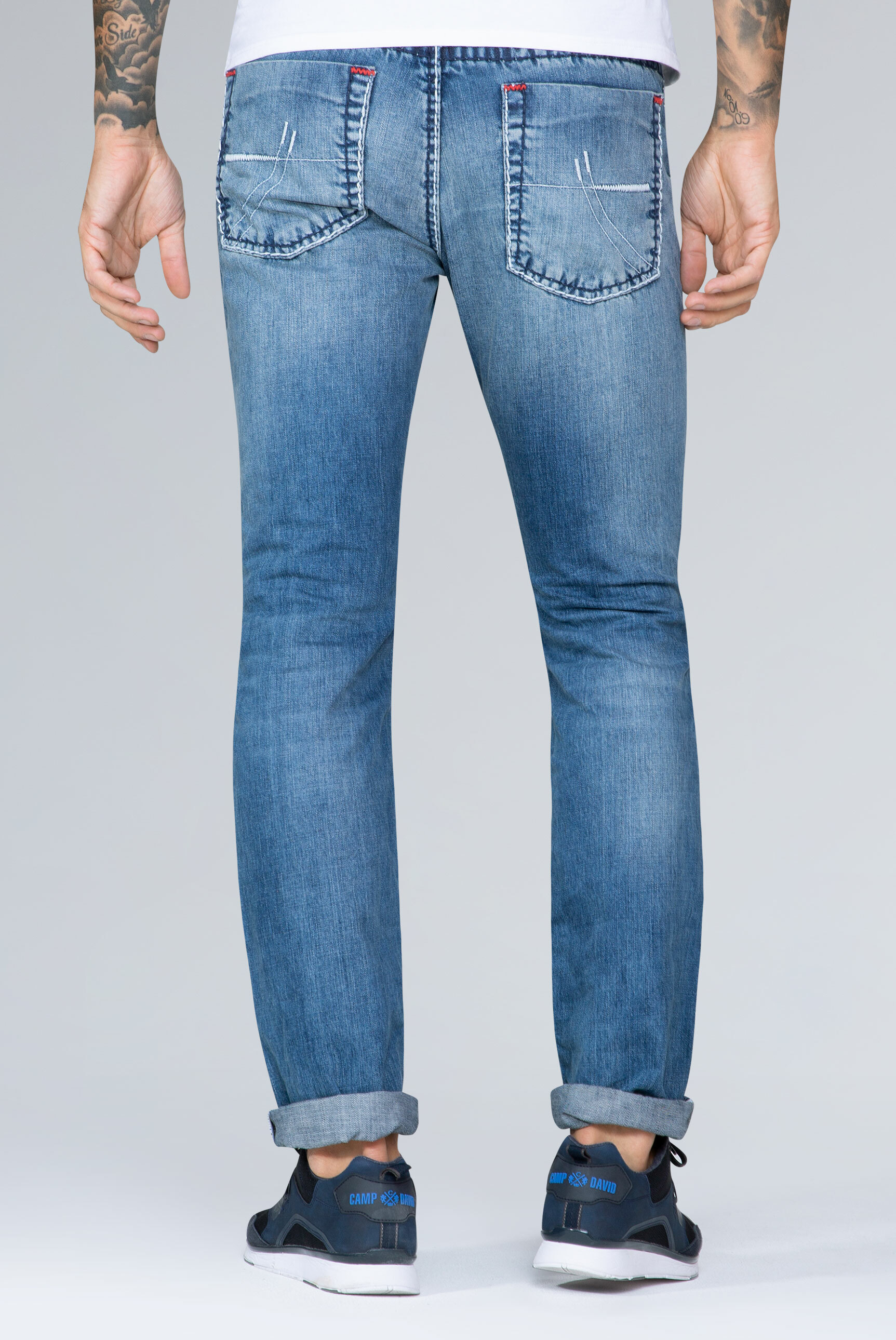 Stone Used Jeans NI:CO Regular Fit