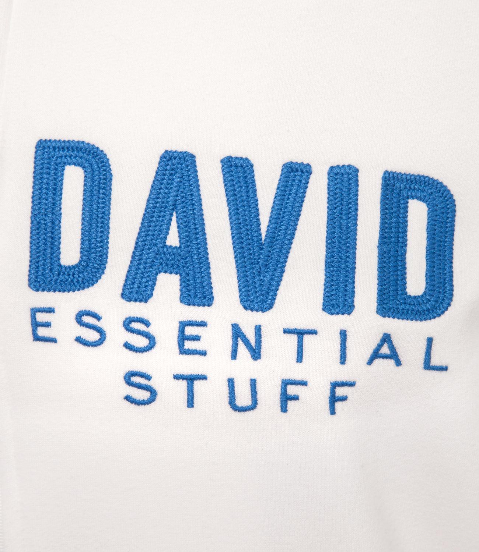 Sweatshirtjacke mit Kapuze und Logo