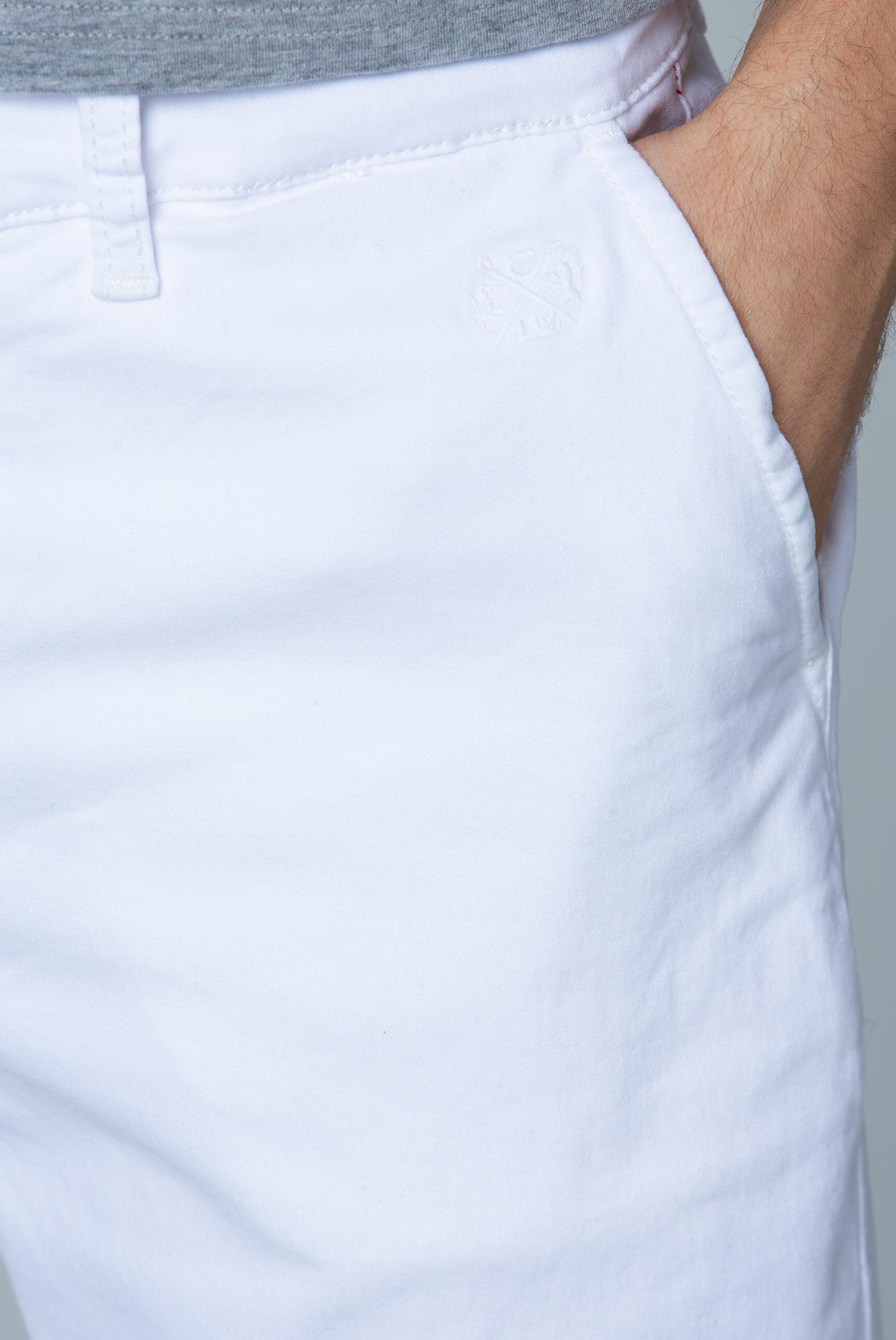 Chinohose mit gewaschener Optik