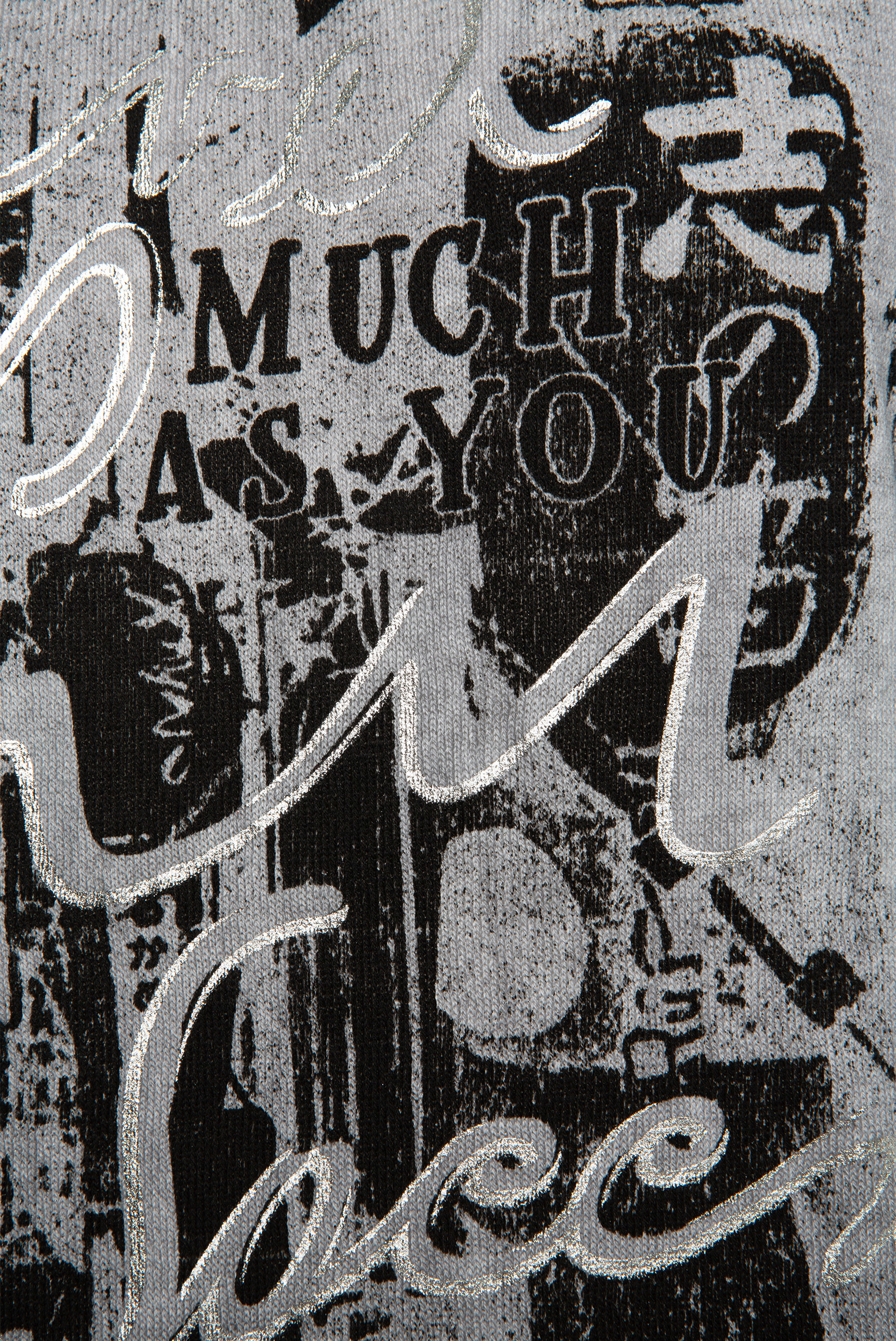 Kapuzenpullover mit Frontprint