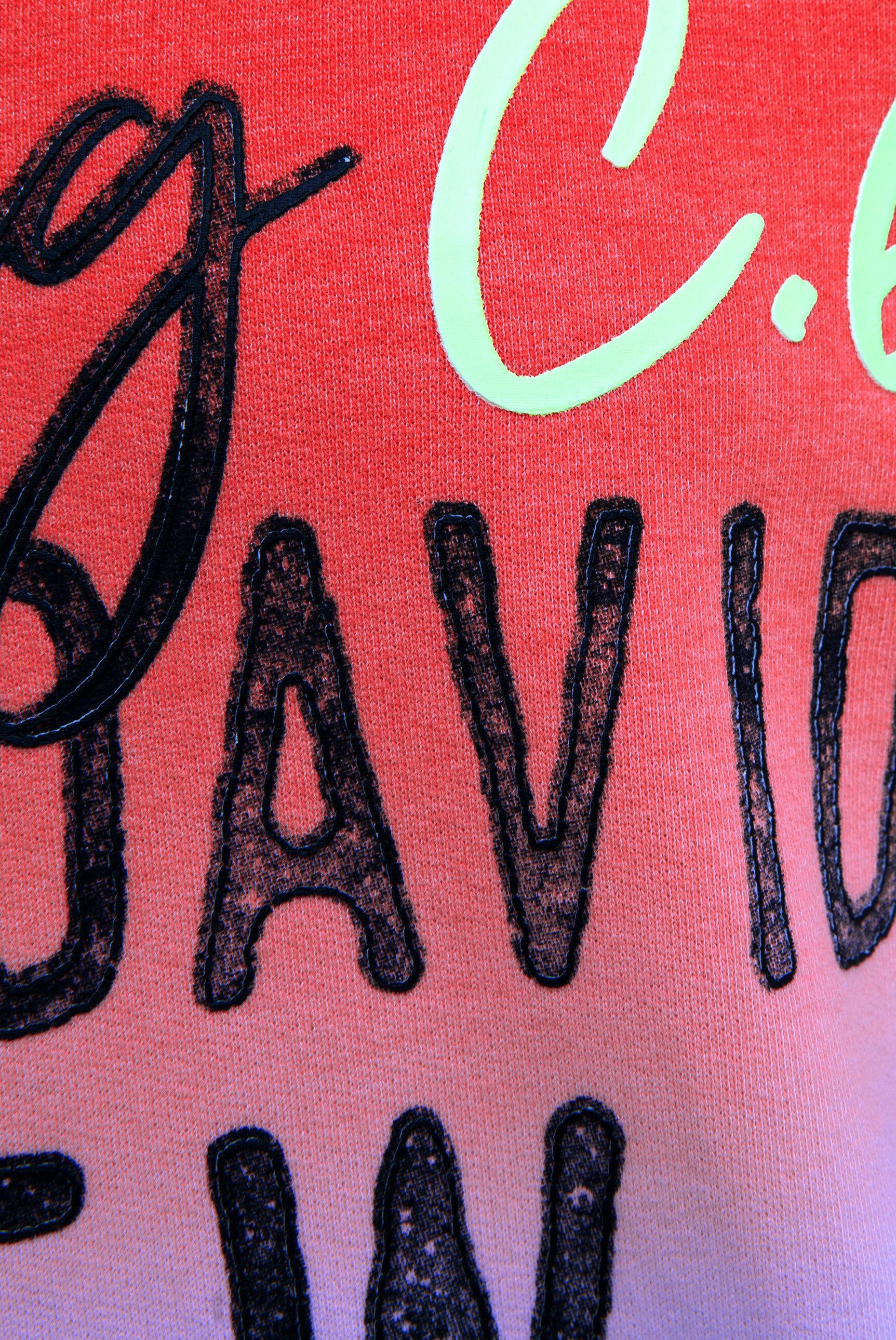 Kapuzensweatshirt mit Dip-Dye-Effekt