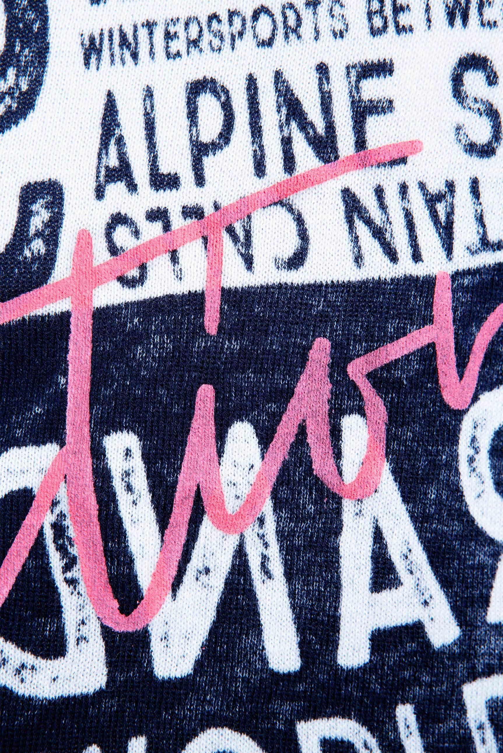 Pullover mit Acid-Waschung